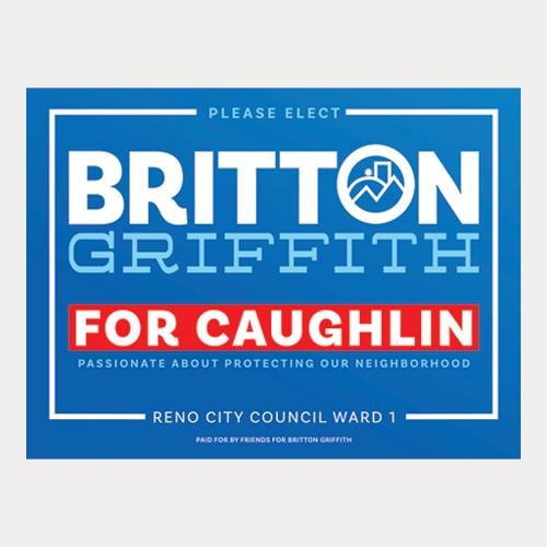 Caughlin Yard Sign