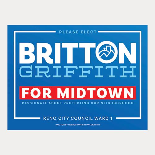 Midtown Yard Sign