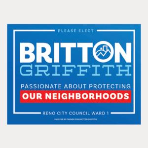 Our Neighborhoods Yard Sign