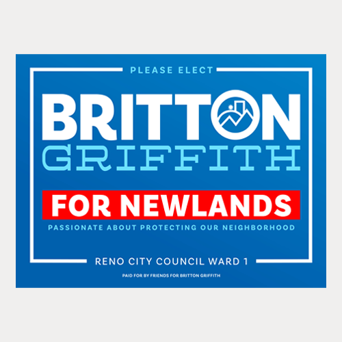 Newlands Yard Sign