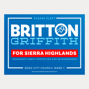 Sierra Highlands Yard Sign