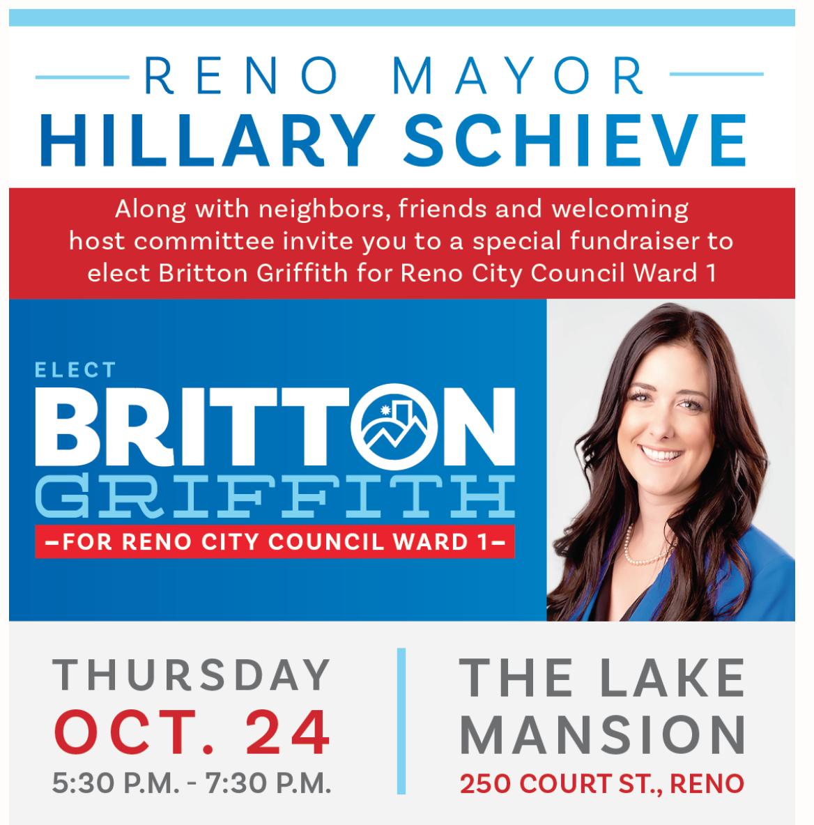 Fundraiser Oct. 24
