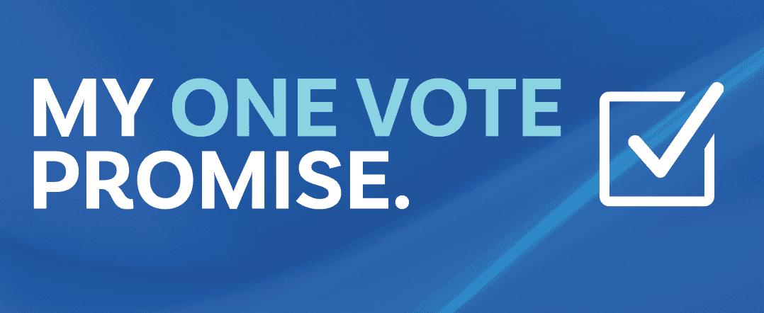 My One Vote Promis.